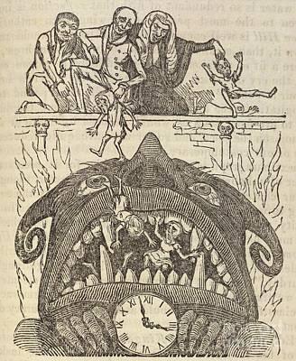 Child Labour In Factories, 1833 Satire Poster