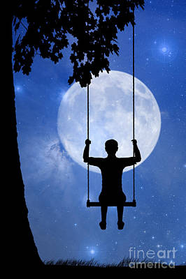 Childhood Dreams 2 The Swing Poster