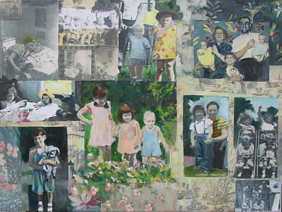 Childhood Joys Poster by Linda Novick