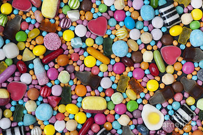 Children's Sweets Poster by Tim Gainey
