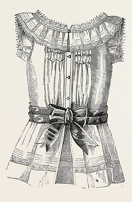 Childs Overall Pinafore, Back, 1882 Poster