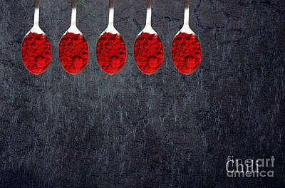 Chili Powder  Poster by Aimelle