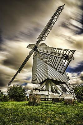 Chillenden Windmill Kent Poster