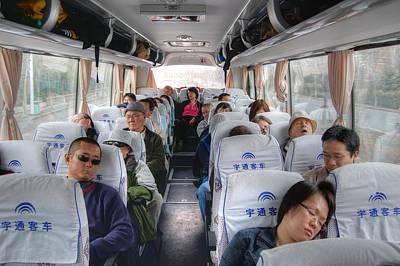 China Bus Ride  Poster
