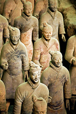 China, Xi'an, Qin Shi Huang Di Poster by Miva Stock
