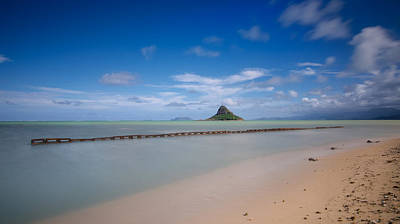 Chinaman's Hat Mokolii In Hawaii Poster