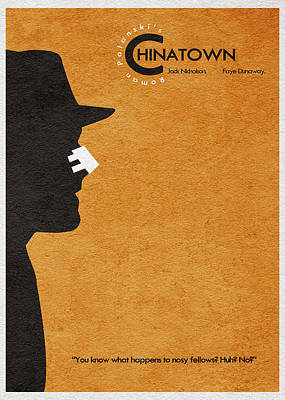 Chinatown Poster by Ayse Deniz