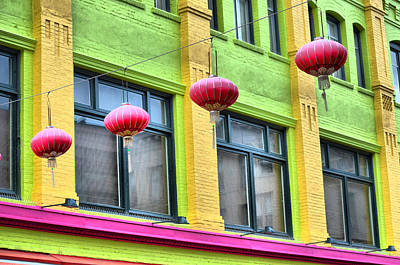 Chinatown Colors Poster