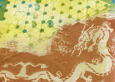 Chinese Dragon Poster by Caitlyn  Grasso