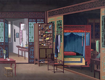 Chinese Interior Poster by British Library