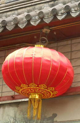 Poster featuring the photograph Chinese Lantern by Kay Gilley