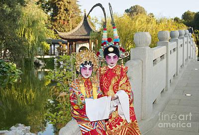 Chinese Opera Children - Traditional Chinese Opera Costumes. Poster
