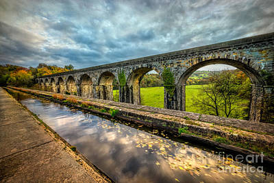 Chirk Aqueduct 1801 Poster by Adrian Evans