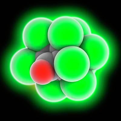 Chlordecone Molecule Poster by Laguna Design