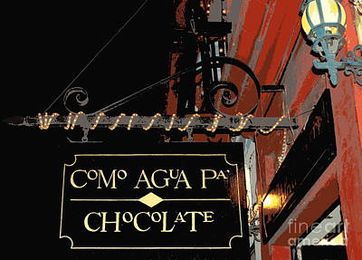 Chocolate Chocolate Poster