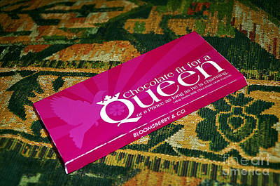 Chocolate Fit For A Queen Poster by Kaye Menner