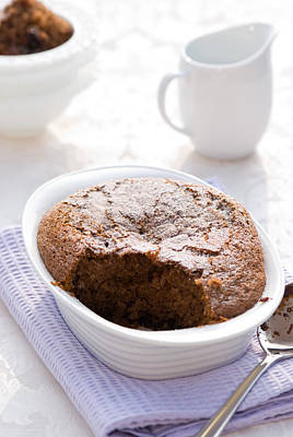 Chocolate Sponge Pudding Poster