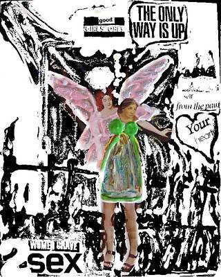 Poster featuring the mixed media Choices by Lisa Piper