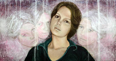 Choices Portrait Of Eva Lynn Horton Poster