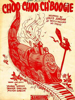 Choo Coo Ch Boogie Poster by Mel Thompson