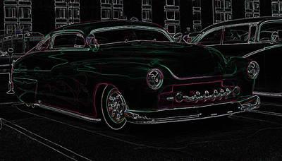 Chopped Merc Glow Poster by Steve McKinzie