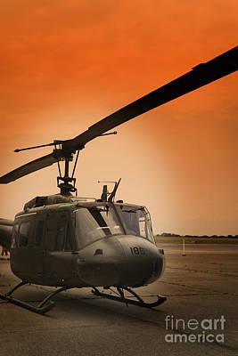 Chopper Poster by M K  Miller