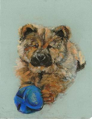 Chow Chow  Poster by Lana McCullars
