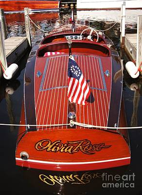 Chris Craft Custom Deluxe Poster