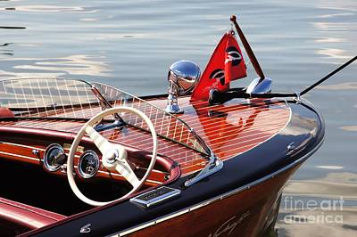 Chris Craft Deluxe Runabout Poster