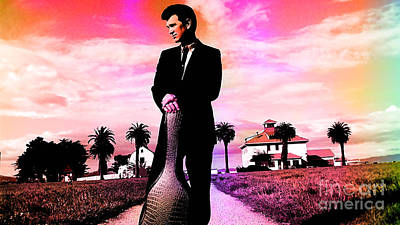 Chris Isaak Poster by Marvin Blaine