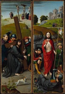 Christ Carrying The Cross Poster