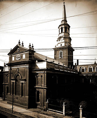 Christ Church, Philadelphia, Churches, United States Poster by Litz Collection