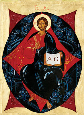 Christ In Majesty Poster by Joseph Malham
