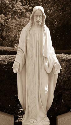 Christ In Openess Poster by Douglas Barnett
