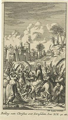 Christ Predicts The Destruction Of Jerusalem Poster
