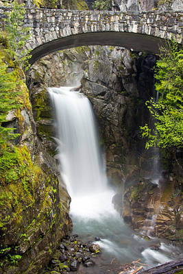 Christine Falls Poster by Bob Noble Photography