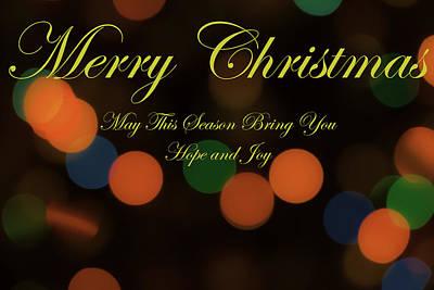Christmas Card 1 Poster