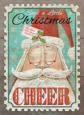 Christmas Cheer Poster by P.s. Art Studios