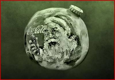 Christmas Coca Cola Poster