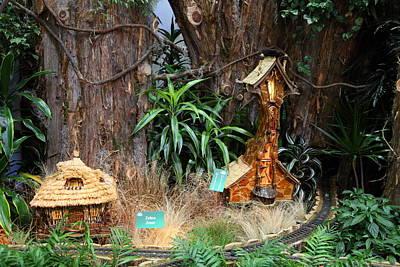 Christmas Display - Us Botanic Garden - 011334 Poster