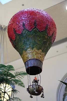 Christmas Display - Us Botanic Garden - 011340 Poster