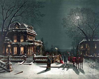 Christmas Eve Gathering Poster