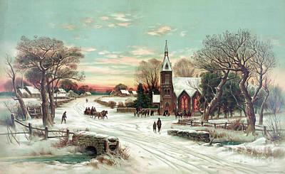 Christmas Eve Mass Poster