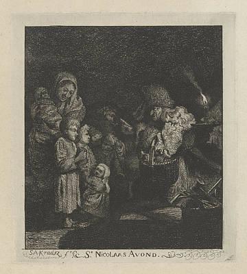 Christmas Eve, Simon Andreas Krausz Poster
