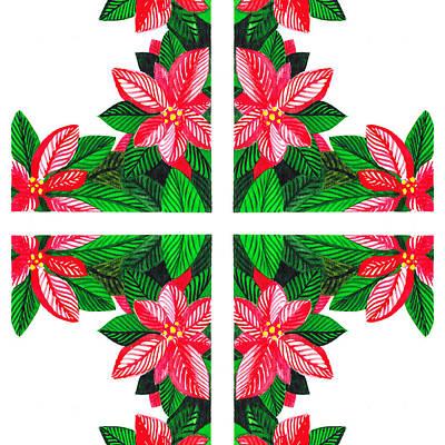 Christmas Gift Poster by Irina Sztukowski