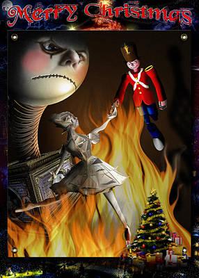 Christmas Greeting Card IIi Poster