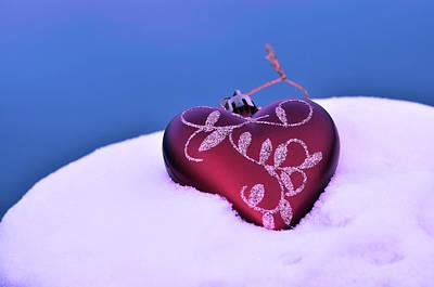 Christmas Heart  Poster
