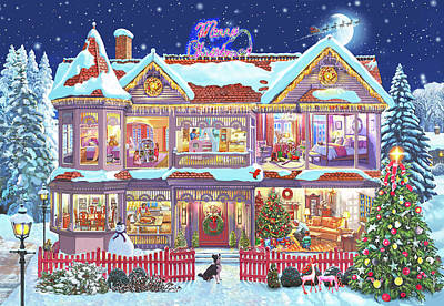 Christmas House Canada Poster