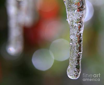 Christmas Icicles Poster