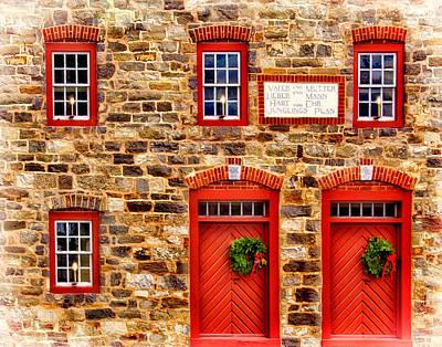 Christmas In Bethlehem Pa Poster